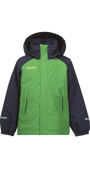Bergans Storm Insulated Kids Jkt Frog/Navy